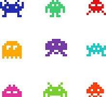 Space Invaders by ninjaliv