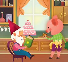 Mr. Pepper Pickle Pumpkin Plum by Magic Novels