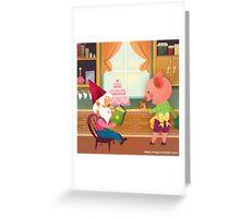 Mr. Pepper Pickle Pumpkin Plum Greeting Card