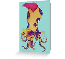 Rocktopus  Greeting Card