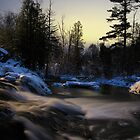 Northwoods River by Phillip DePetro