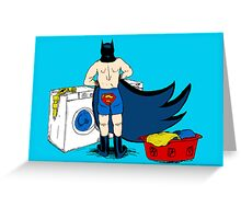 Holy Laundry Day! Greeting Card