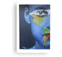 Eye on the Americas Canvas Print