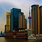 Shanghai, Pudong by Heike Richter