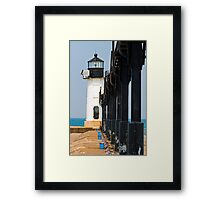 St. Joseph North Pier Outer Light, Michigan Framed Print