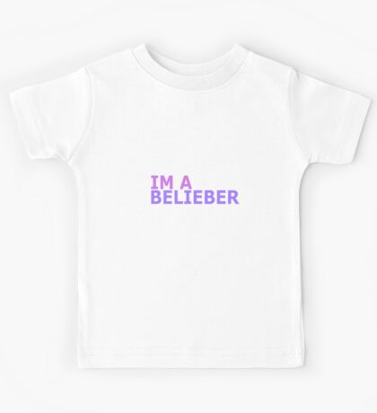 Justin Bieber  Kids Tee