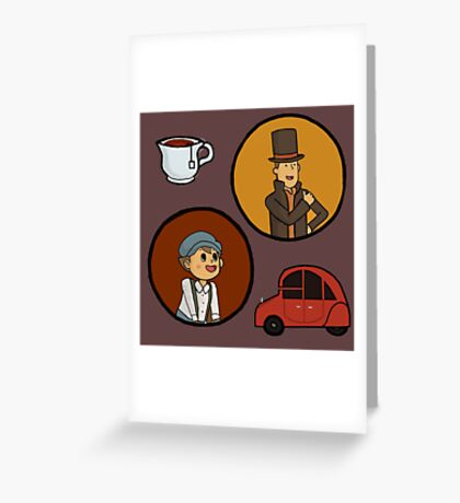 Puzzle duo Greeting Card