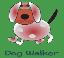 Dog Walker skirt, etc. design Kids Tee