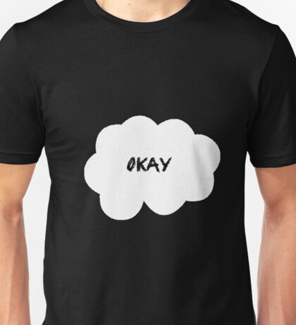 Okay White Unisex T-Shirt