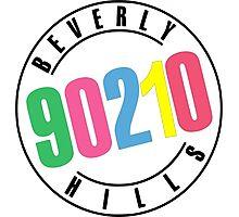 Beverly Hills 90210-logo Photographic Print