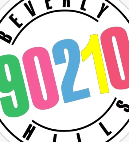 Beverly Hills 90210-logo Sticker