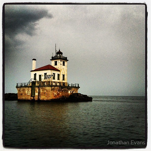 The Oswego Lighthouse by Jonathan Evans