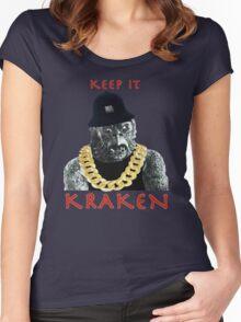 KEEP IT KRAKEN Women's Fitted Scoop T-Shirt