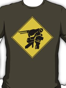 Bipedal Walking Tank X-ing T-Shirt
