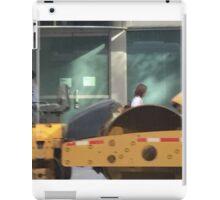 NYC street from MTA Bus iPad Case/Skin