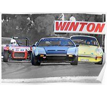 Racing at Historic Winton 2011 Poster