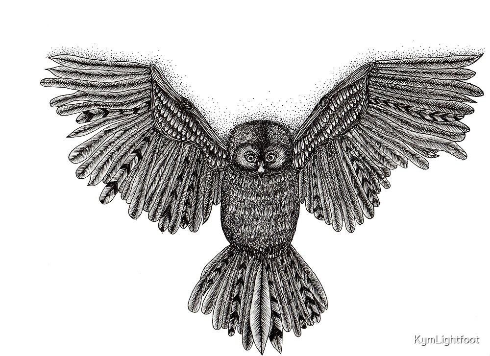 Dusty Owl by KymLightfoot
