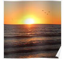 Madeira Sunset Poster