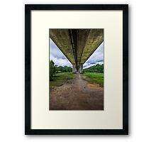 Belle Bridge Framed Print