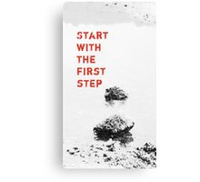 The First Step  VRS2 Canvas Print
