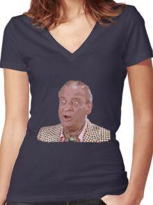 Rodney Dangerfield Women's Fitted V-Neck T-Shirt