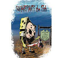 Squarepants the 13th Photographic Print