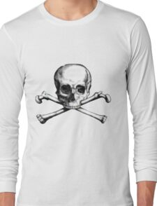 Super cool Skull Long Sleeve T-Shirt