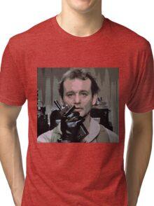 Bill Murray Ghost Busters Tri-blend T-Shirt
