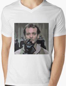 Bill Murray Ghost Busters Mens V-Neck T-Shirt