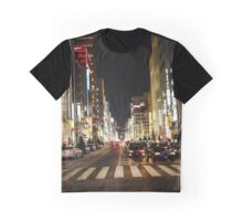 Ginza Crossing, Tokyo, Japan Graphic T-Shirt