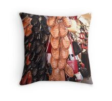 Shoes-R-Us Throw Pillow