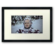frozen jack Framed Print