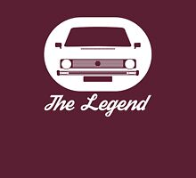 VW Rabbit, The Legend Womens Fitted T-Shirt