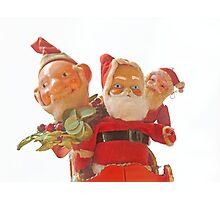 Scary Santas  Photographic Print