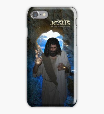 Jesus: I am the resurrection (iPhone/iPod Case) iPhone Case/Skin