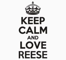Keep Calm and Love REESE Kids Clothes