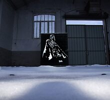 Vader spraypainting by blouh