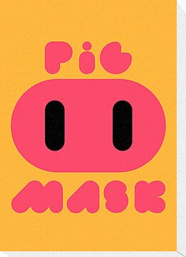 Pig Mask Logo by sheakennedy