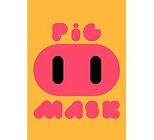 Pig Mask Logo Photographic Print