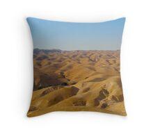 The Wilderness of Judah Throw Pillow