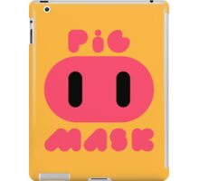 Pig Mask Logo iPad Case/Skin