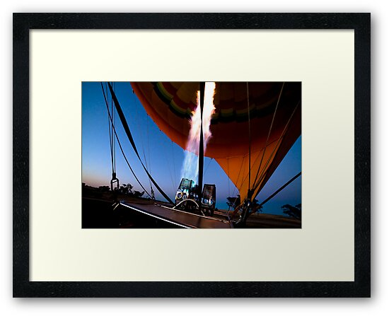 Ballooning @ Dawn by Stephen Humpleby