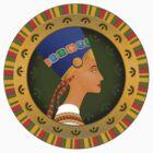 tsarina of Egypt Nefertiti by nikolaich
