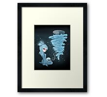 Intercosmic Christmas in Blue Framed Print