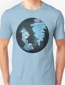 Intercosmic Christmas in Blue T-Shirt