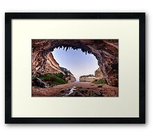 Down Under in Victoria. Framed Print