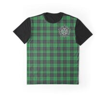 Supernatural Anti-possession symbol on PLAID in GREEN Graphic T-Shirt