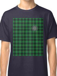 Supernatural Anti-possession symbol on PLAID in GREEN Classic T-Shirt