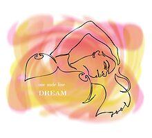 one line dream Photographic Print