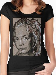 TWD Beth Women's Fitted Scoop T-Shirt
